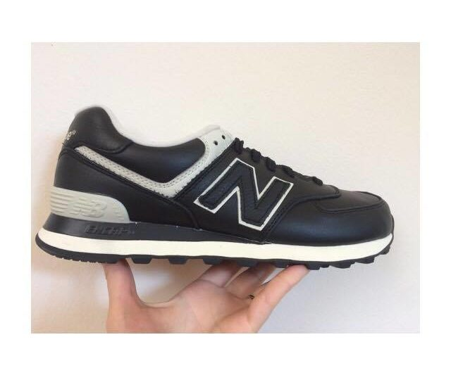 new balance uomo 574 in pelle